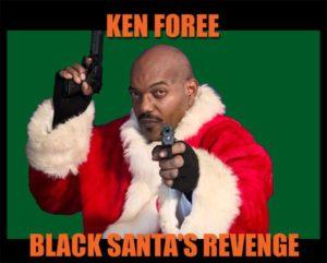 black-santa