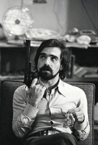 Martin Scorsese during the filming of Taxi Driver --- Image by © Steve Schapiro/Corbis