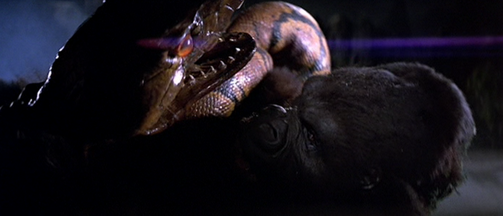[WHY'D IT HAVE TO BE SNAKES WEEK] KING KONG (1976)