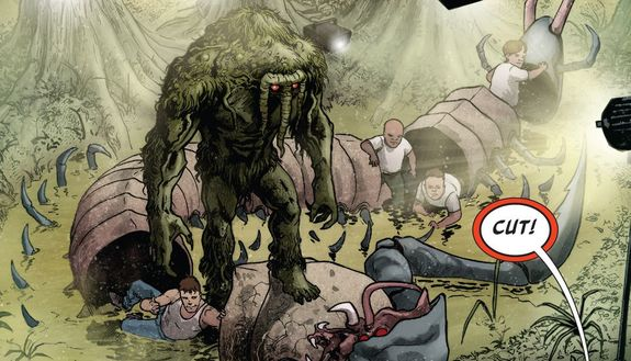 [GRINDHOUSE COMICS COLUMN] MAN-THING #1