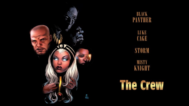 [GRINDHOUSE COMICS COLUMN] BLACK PANTHER & THE CREW #1