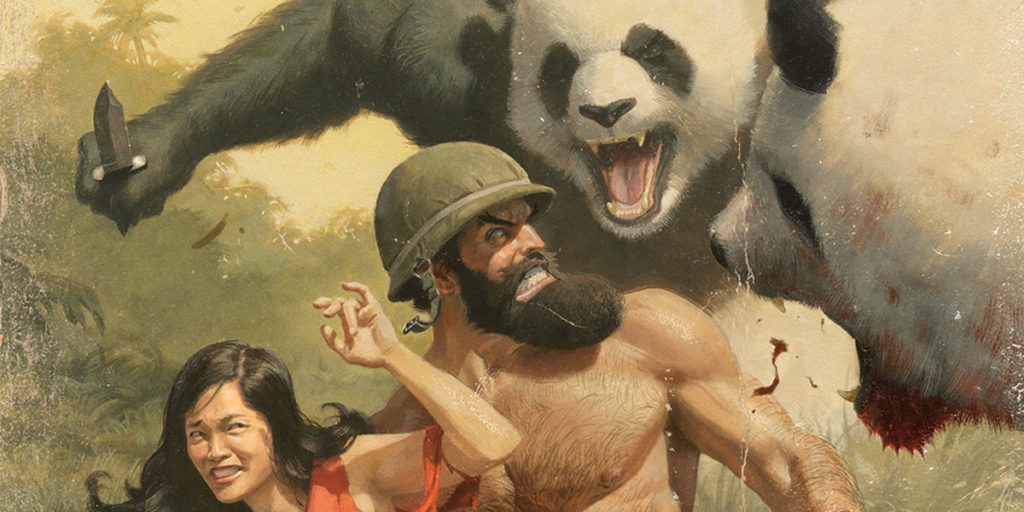 [GRINDHOUSE COMICS COLUMN] SHIRTLESS BEAR-FIGHTER! #1