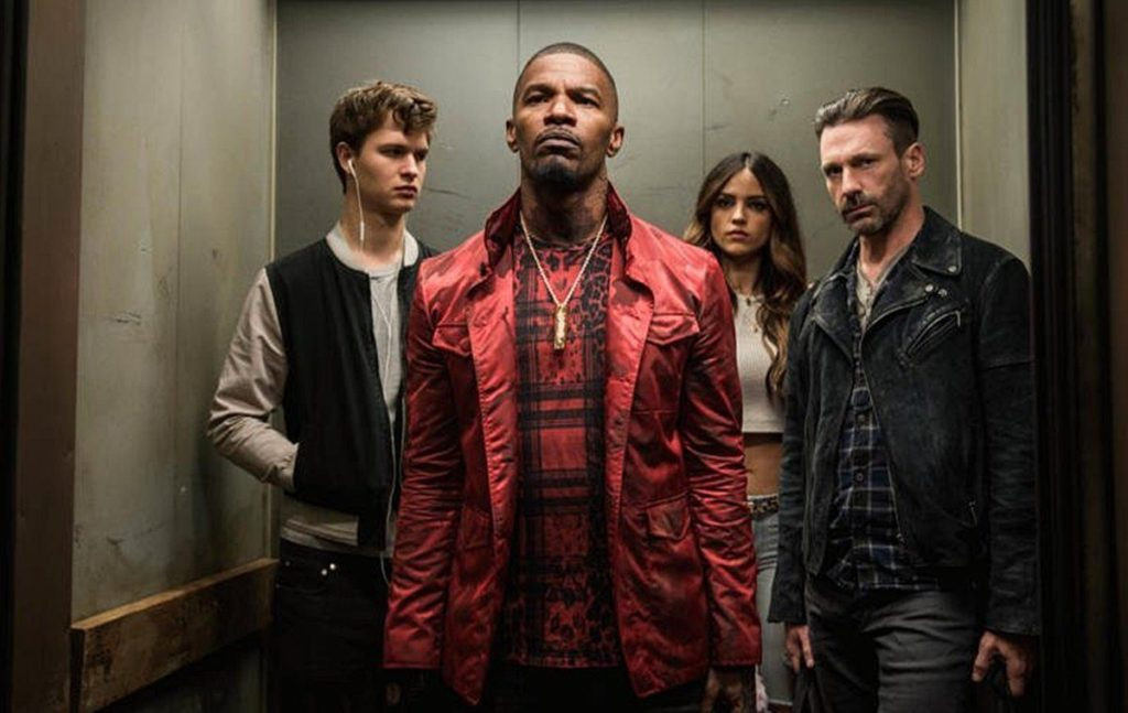 [THEATRICAL REVIEW] A LACKLUSTER SCRIPT STALLS OUT DISAPPOINTING 'BABY DRIVER' (2017)