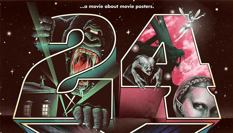 24 by 36 movie posters