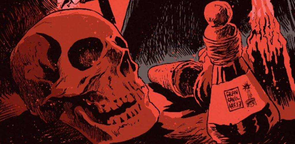[GRINDHOUSE COMICS COLUMN] UNHOLY GRAIL #1