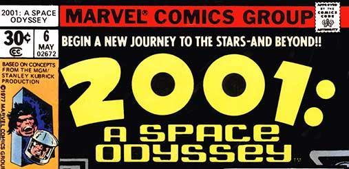 [GRINDHOUSE COMICS COLUMN] 2001: A SPACE ODYSSEY #5 & 6