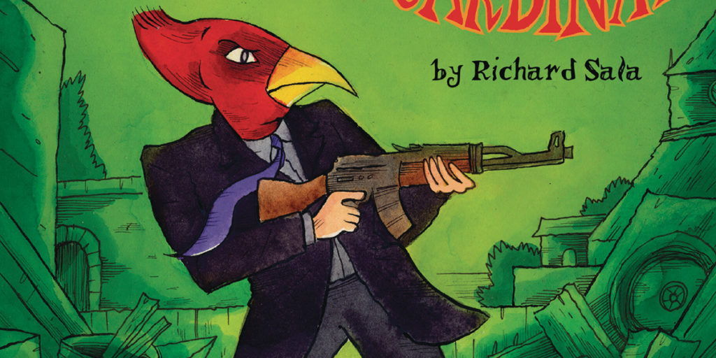 [GRINDHOUSE COMICS COLUMN] RICHARD SALA'S 'THE BLOODY CARDINAL'