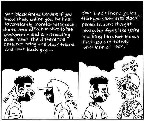 [GRINDHOUSE COMICS COLUMN] BEN PASSMORE'S 'YOUR BLACK FRIEND'