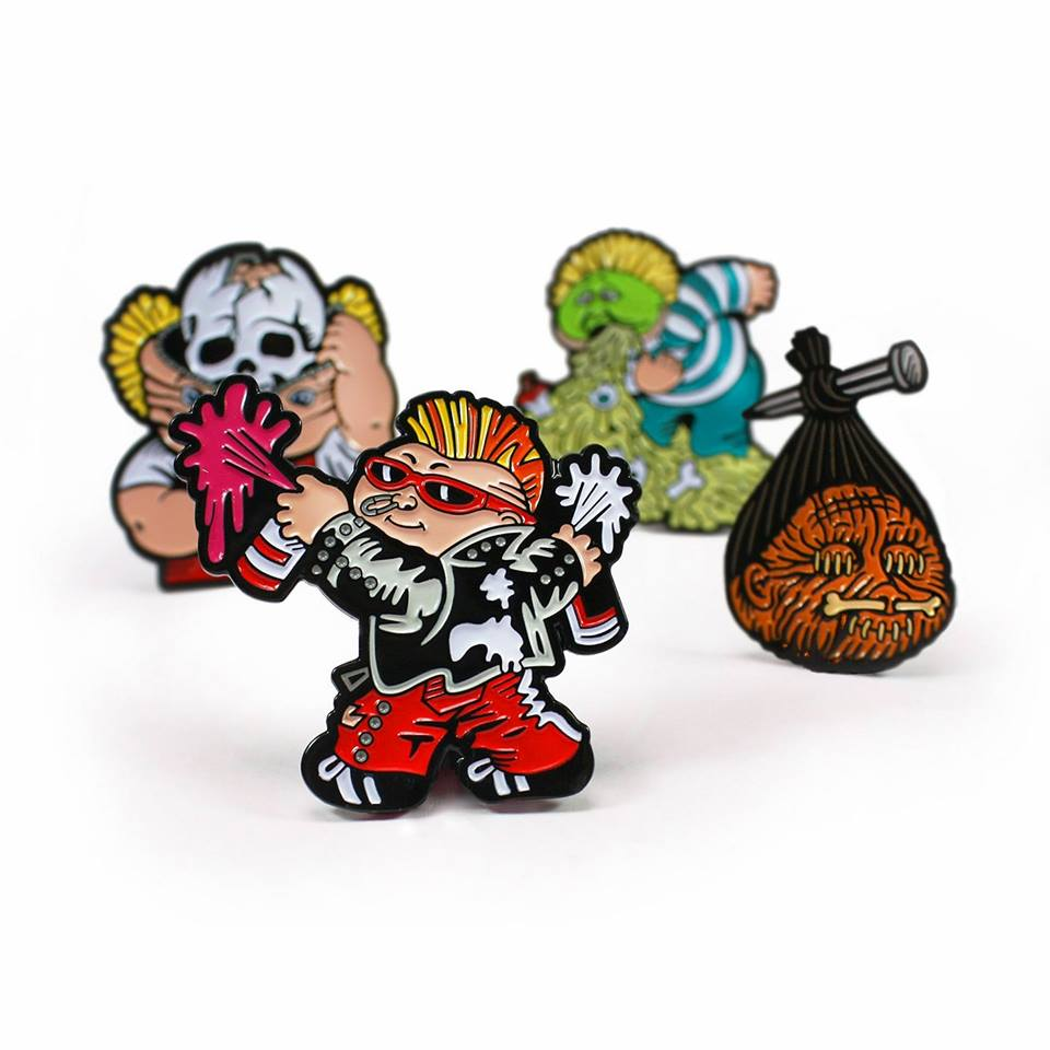 S Original Line Was Based On Classic Cult Movies. Some Of My Favorite Pins  Of Theirs Included THE STUFF, ROCKY HORROR PICTURE SHOW, MOTEL HELL, ...