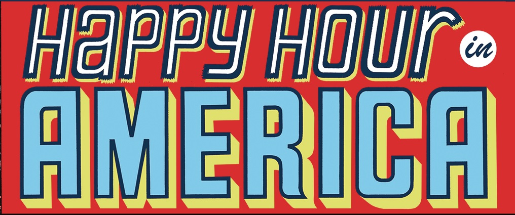 [GRINDHOUSE COMICS COLUMN] HAPPY HOUR IN AMERICA #1