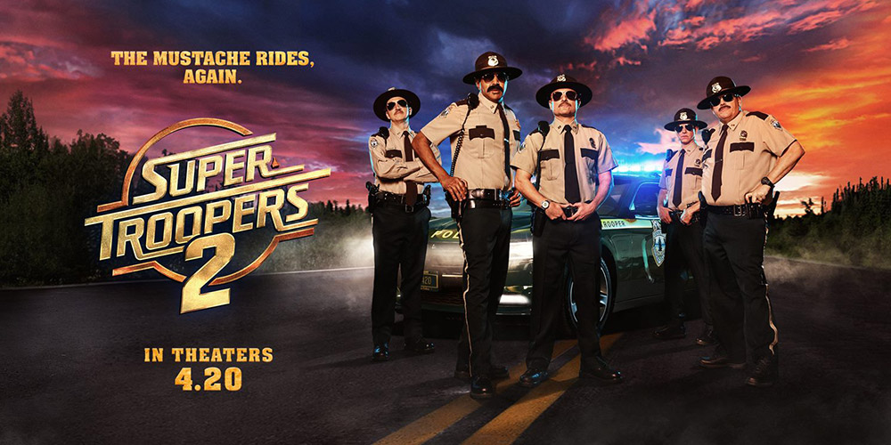 [IN THEATERS NOW!] SUPER TROOPERS 2 (2018)