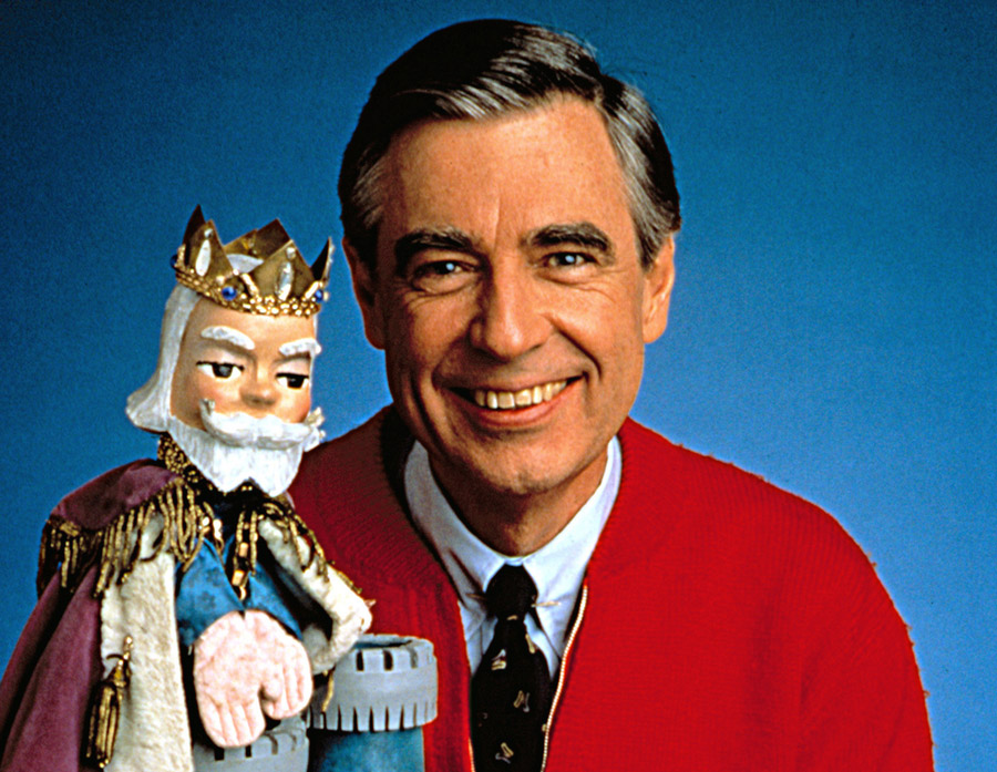 Fred Rogers & King Friday In WON'T YOU BE MY NEIGHBOR?