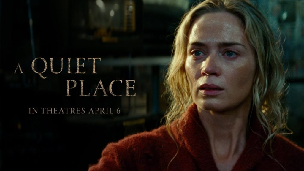 [IN THEATERS NOW!] A QUIET PLACE (2018)