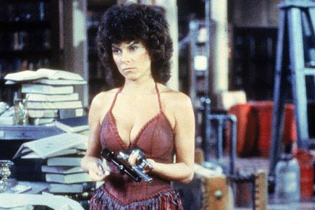 [THE DAILY GRINDHOUSE ONE-MINUTE INTERVIEW] ADRIENNE BARBEAU!!!