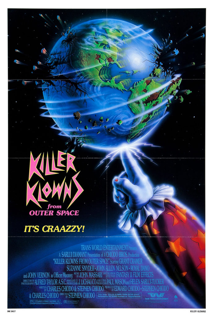 Image result for Killer Klowns From Outer Space daily grindhouse