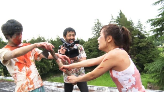 [FANTASIA 2018] 'ONE CUT OF THE DEAD' PUTS A FRESH COAT OF BLOOD ON A WELL-WORN GENRE AND GIMMICK