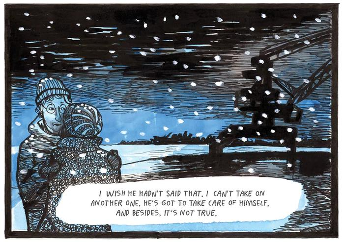[GRINDHOUSE COMICS COLUMN] 'RED WINTER' BY ANNELI FURMARK