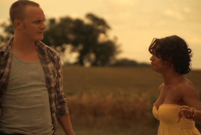 David Anders and Kandyse McClure as Burt and Vicky