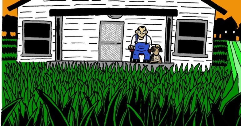[GRINDHOUSE COMICS COLUMN] 'LAWNS' BY ALEX NALL