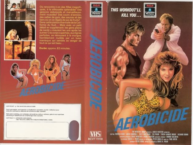 KILLER WORKOUT - VHS Cover