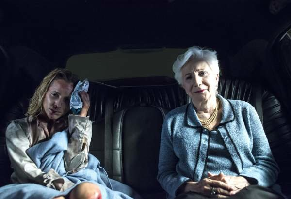 Maria Bello and Olympia Dukakis in 2014's Big Driver