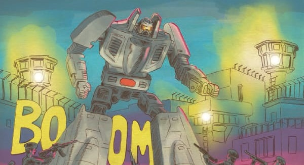 [GRINDHOUSE COMICS COLUMN] 'GO-BOTS #1' BY TOM SCIOLI