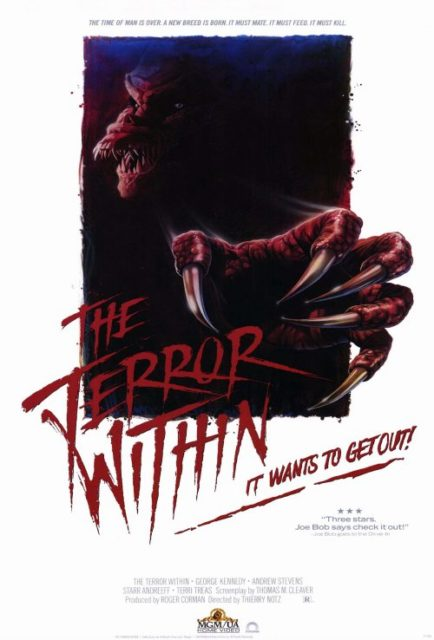 THE TERROR WITHIN - Poster