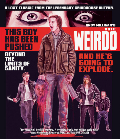 THE WEIRDO - Andy Milligan Blu-ray Cover