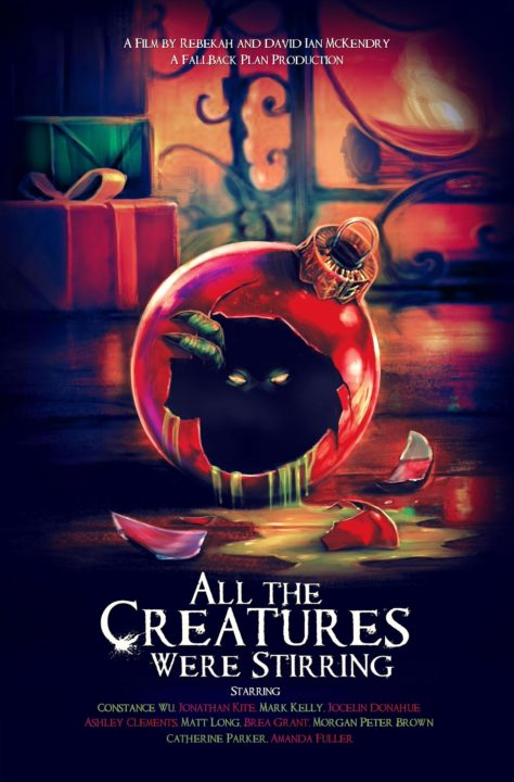ALL THE CREATURES WERE STIRRING - poster