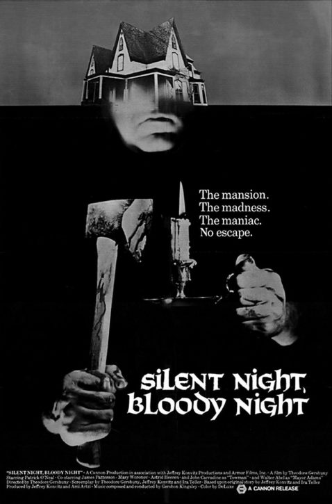 SILENT NIGHT, BLOODY NIGHT - Poster