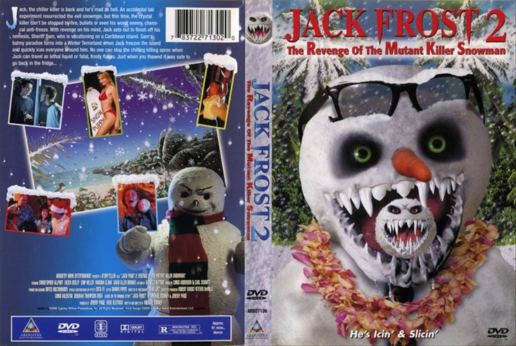JACK FROST 2 DVD Cover