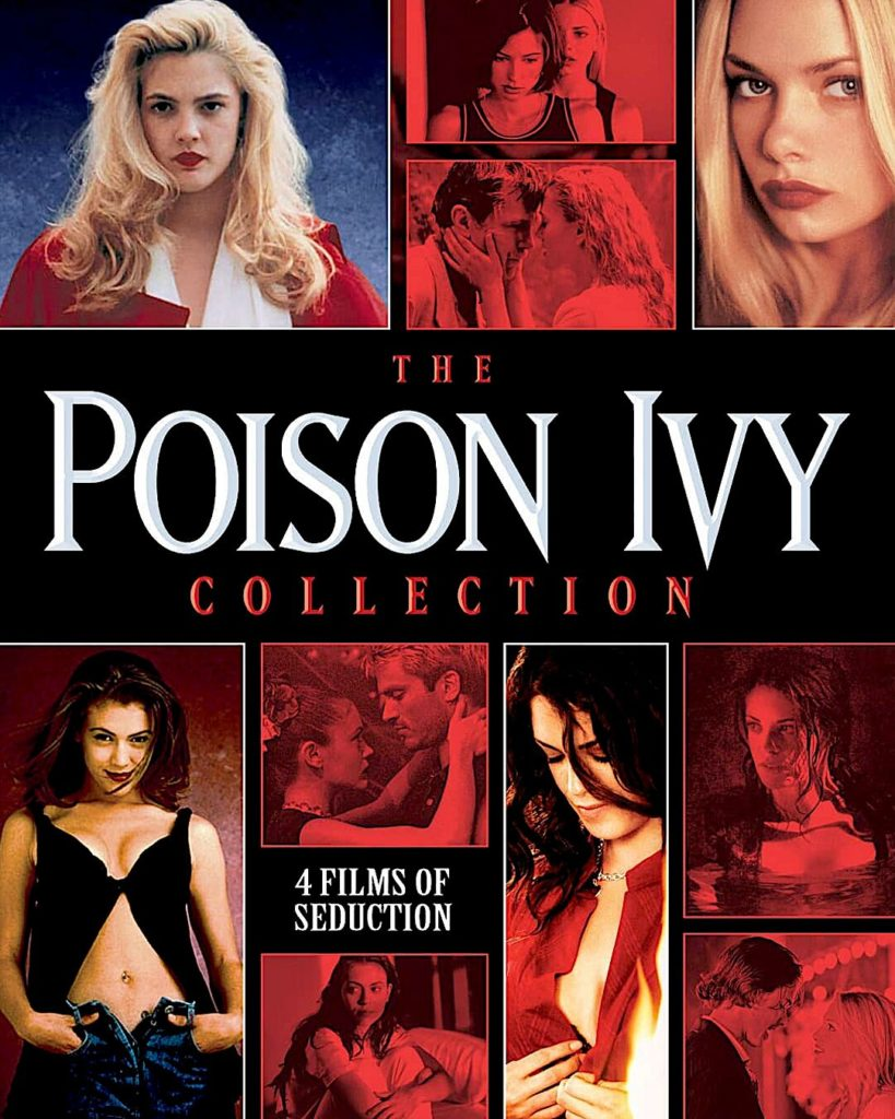 POISON IVY Collection Blu-ray cover