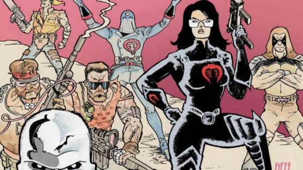 [GRINDHOUSE COMICS COLUMN] G.I. JOE: SIERRA MADRE #1