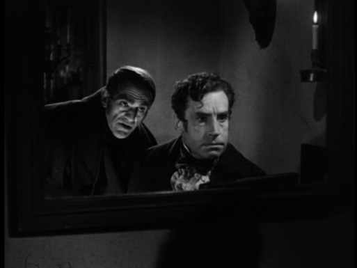 THE BODY SNATCHER - Boris Karloff, Henry Daniell