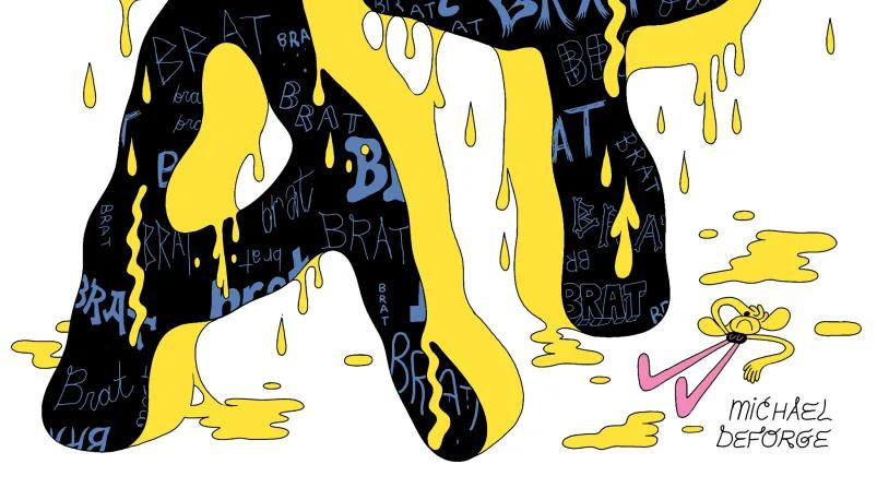 [GRINDHOUSE COMICS COLUMN] 'BRAT' BY MICHAEL DeFORGE