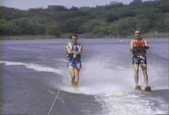 BLOOD LAKE Water Skiing