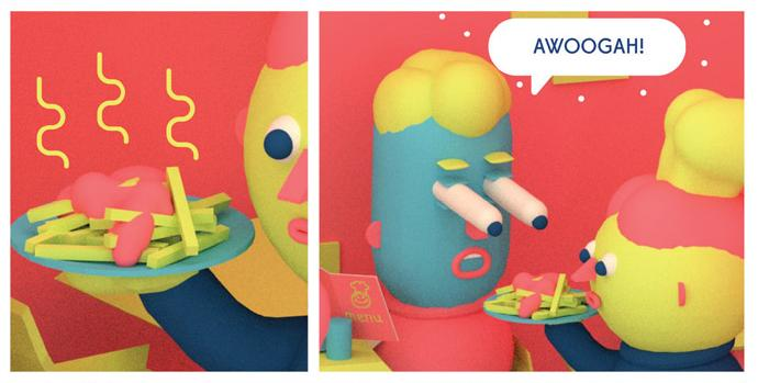 [GRINDHOUSE COMICS COLUMN] '3D SWEETIES' BY JULIAN GLANDER