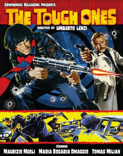 THE TOUGH ONES - Blu-ray Cover