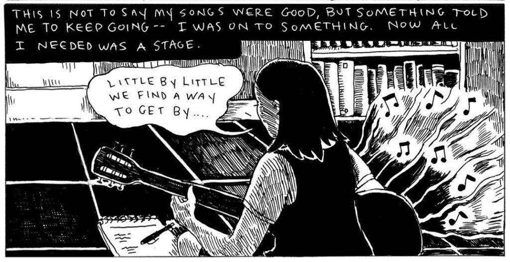 [GRINDHOUSE COMICS COLUMN] 'ALL THE SAD SONGS' BY SUMMER PIERRE