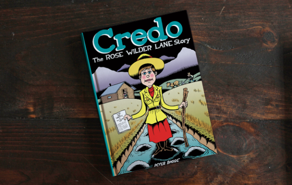 [GRINDHOUSE COMICS COLUMN] 'CREDO' BY PETER BAGGE