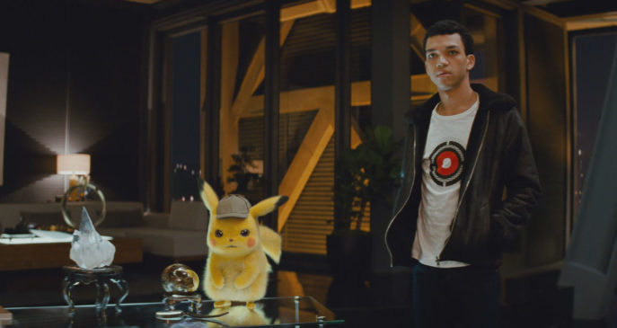 DETECTIVE PIKACHU - Justice Smith