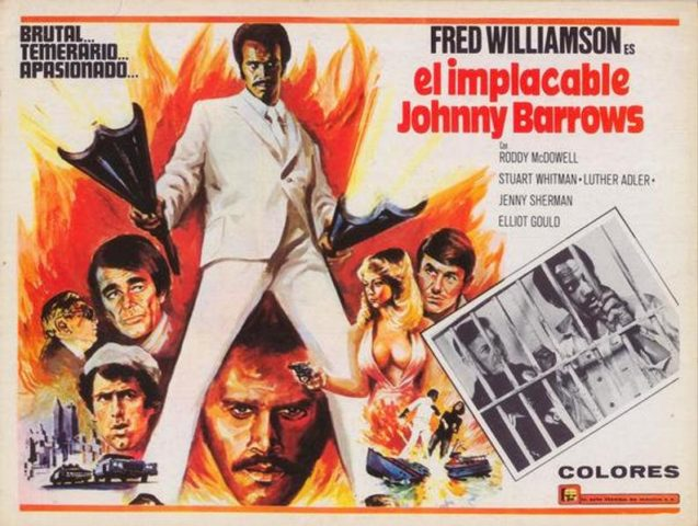 MEAN JOHNNY BARROWS - poster