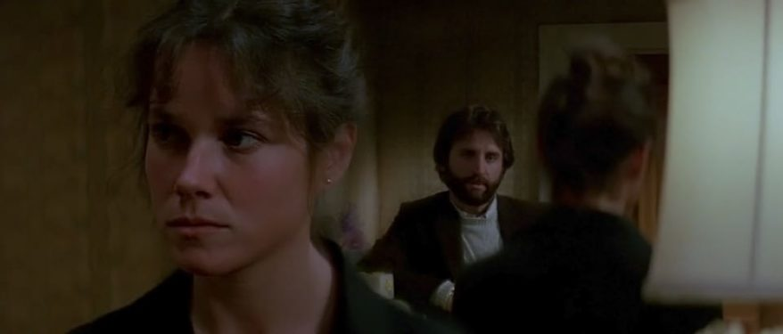 THE ENTITY - Barbara Hershey. Ron Silver
