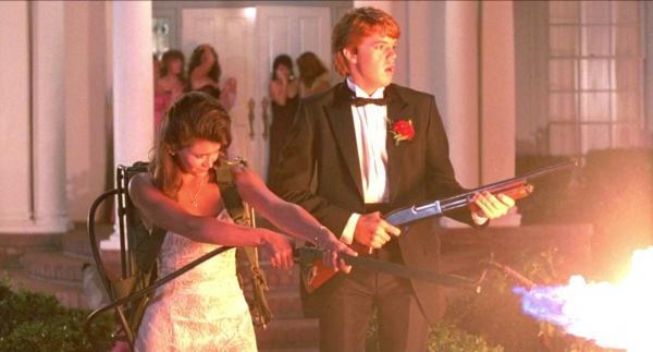 NIGHT OF THE CREEPS - Jason Lively, Jill Whitlow - Flamethrower