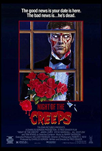 NIGHT OF THE CREEPS -poster