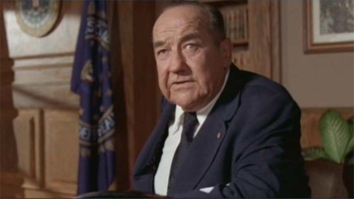 Larry Cohen's THE PRIVATE FILES OF J. EDGAR HOOVER - Broderick Crawford
