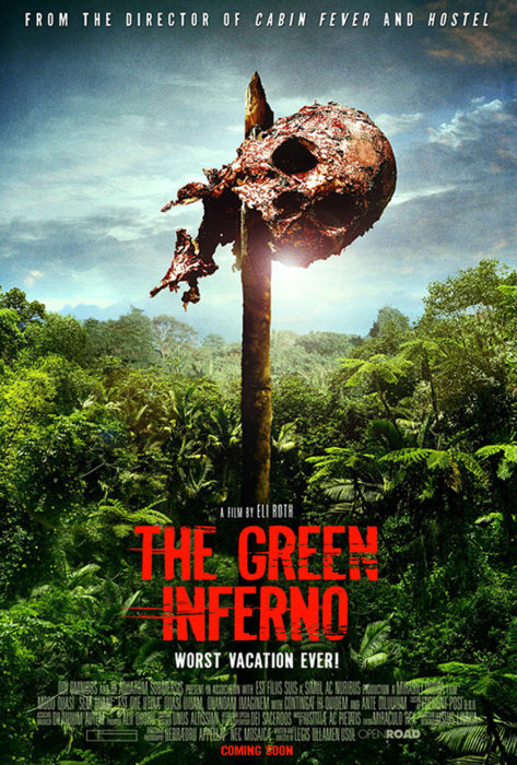 Daily Grindhouse The Green Inferno Gets A Stunning Blu Ray For An