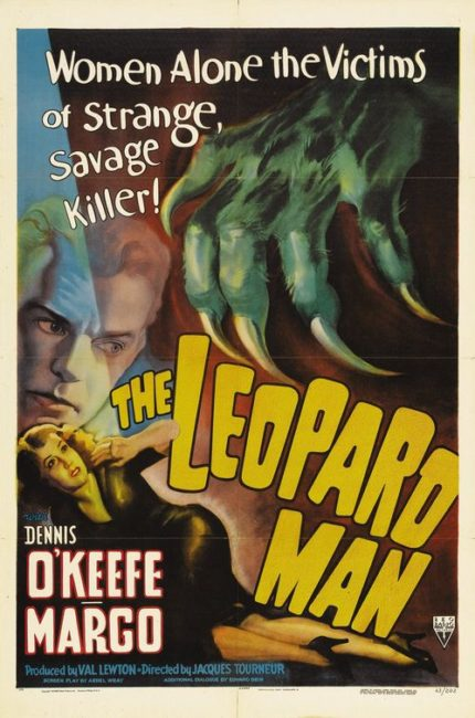 THE LEOPARD MAN - poster
