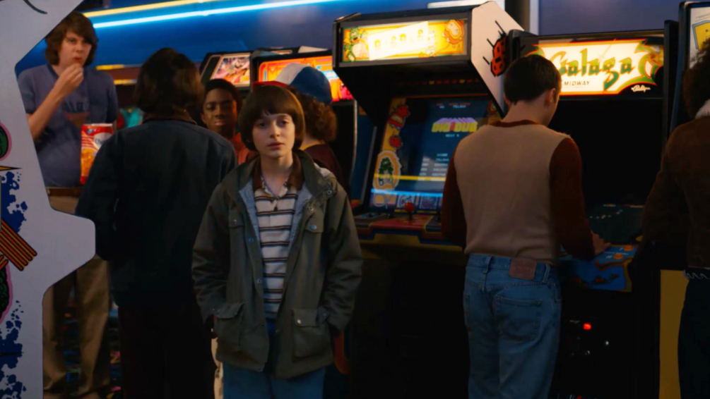 Patient Zero for GamerGate in the corner back there in Stranger Things season 2 episode 1