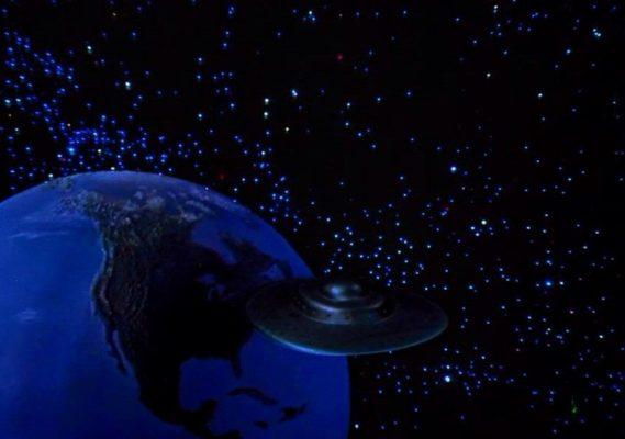 THIS ISLAND EARTH - Spaceship